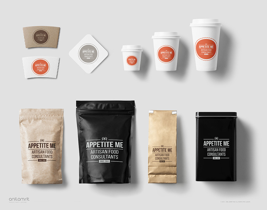 FOOD BRANDING, MERCHANDISING & PACKAGING DESIGN
