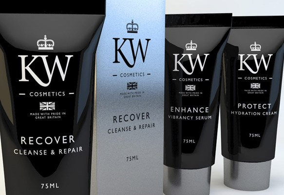 KW Cosmetics Branding & Packaging Design Birmingham, West Midlands