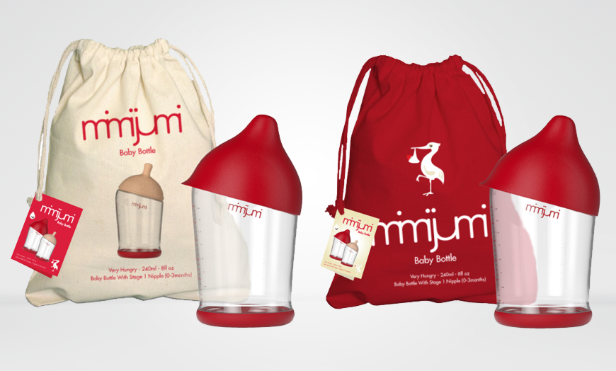 MIMIJUMI PACKAGING DESIGN - ECO BABY POUCHES