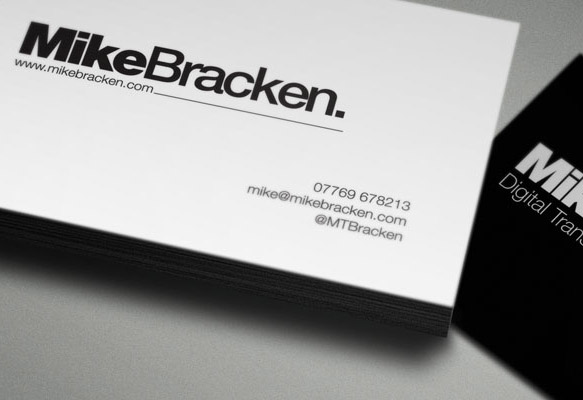 MIKE BRACKEN LOGS & CARDS