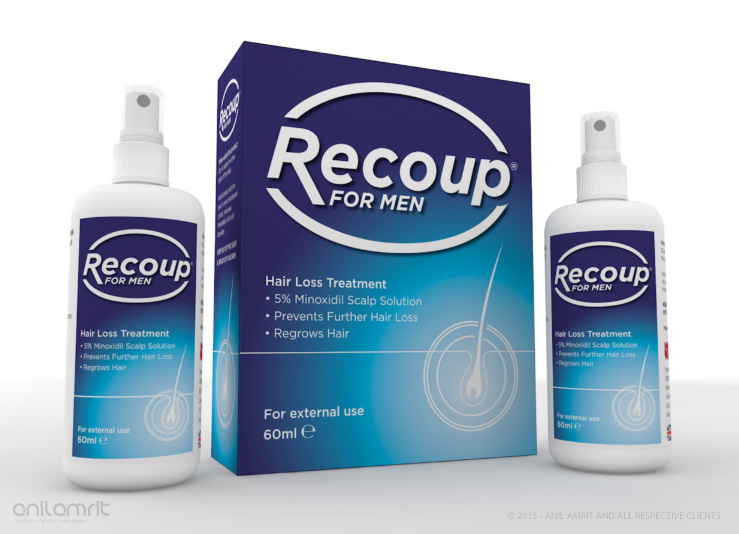 RECOUP - PHARMACEUTICALS BRANDING & PACKAGING DESIGN